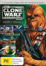 Star Wars : The Clone Wars - Season 3 - Volume 4
