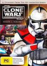 Star Wars : The Clone Wars - Season 3 - Volume 1