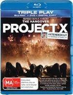 Project X (Blu-Ray/DVD/DC) (Extended Cut) - Dax Flame