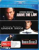 Above The Law / Under Siege / Under Siege 2 (Blu-ray Triple) - Steven Seagal