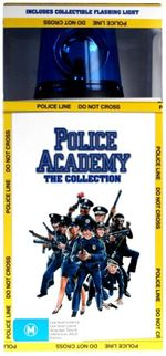 Police Academy Complete Collection with Bonus Model Siren - Steve Guttenberg