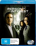 Person of Interest : Season 1 (4 Discs) - Michael Emerson