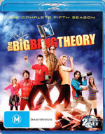 The Big Bang Theory : Season 5 (2 Discs) - Jim Parsons