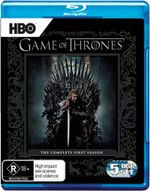 Game of Thrones : Season 1 (5 Discs) - Emilia Clarke