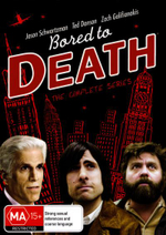Bored to Death : The Complete Series (Seasons 1 - 3) - Jason Schwartzman