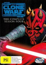 Star Wars : The Clone Wars - Season 4 (5 Discs) - Matt Lanter