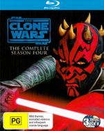 Star Wars : The Clone Wars - Season 4 (3 Discs) - Matt Lanter