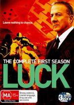Luck : Season 1 (3 Discs) - John Ortiz