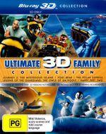 Happy Feet 2 / Legend of the Guardians / Journey 2 / The Polar Express / Yogi Bear (2010) (Ultimate Family 3D Blu-ray Boxset) (5 Movies) (5 Discs) - Leslie Zemeckis