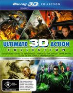 Clash of the Titans (2010) / Drive Angry / Ghost Rider 2 / Green Lantern / Wrath of the Titans (Ultimate Action 3D Blu-ray Boxset) (5 Movies) - Gemma Arterton