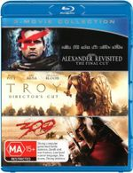 300 / Alexander Revisited / Troy (Blu-ray Triple) - Colin Farrell