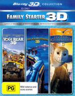 Yogi Bear (2010) / The Polar Express / Legend of the Guardians : The Owls of Ga'hoole (3D Blu-ray Family Starter Pack) (3 Discs) - Dan Ackroyd