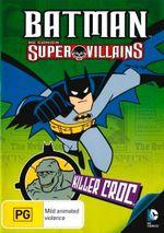 Batman Super Villains : Killer Croc