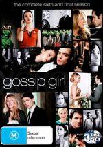 Gossip Girl : Season 6 (3 Discs) - Leighton Meester
