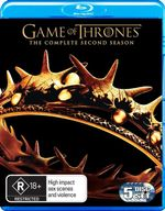 Game of Thrones : Season 2 (5 Discs) - Lena Headey