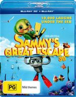 Sammy's Great Escape 3D (3D Blu-ray/Blu-ray) - Cinda Adams