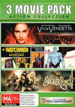 Sucker Punch / V for Vendetta / Watchmen : The Complete Motion Comic - Tom Stechschulte