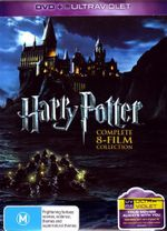 Harry Potter : Complete 8-Film Collection (Box Set) (DVD/UV) - Daniel Radcliffe