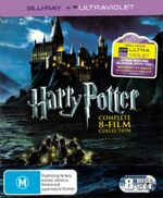 Harry Potter : Complete 8-Film Collection (Box Set) (Blu-ray/UV) - Daniel Radcliffe