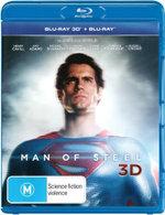 Man of Steel (2013) (3D Blu-ray/Blu-ray) (3 Discs) - Henry Cavill