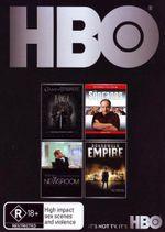HBO Starter Boxset : Season 1 of Game of Thrones / The Sopranos / The Newsroom / Boardwalk Empire - Peter Dinklage