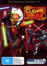 Star Wars : The Clone Wars - Seasons 1- 5 - Matt Lanter