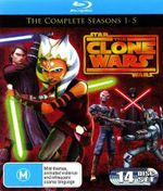 Star Wars : The Clone Wars - Seasons 1- 5 - Matt Lanter