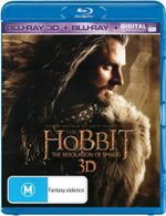 The Hobbit : The Desolation of Smaug (3D Blu-ray/Blu-ray/UV) - Ian McKellen