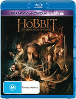 The Hobbit : The Desolation of Smaug (Blu-ray/DVD/UV) - Ian McKellen