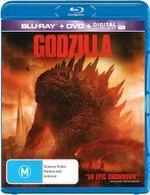 Godzilla 2014 (Blu-ray/DVD/UV) - Aaron Taylor-Johnson