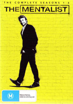 The Mentalist : The Complete Seasons (1 - 6) (31 Discs) - Simon Baker