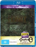 The Hobbit : The Desolation of Smaug (Extended Edition with The Key of Thorin Oakenshield) (3D Blu-ray/Blu-ray/UV) - Martin Freeman