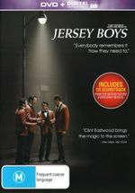 Jersey Boys with Movie Soundtrack (DVD / UV) - Michael Lomenda