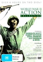 World War II Action Collection (A Walk in the Sun (1945) / Five for Hell (1969) / Gung Ho! (1943) / Hell in Normandy (1968)) - Robert Mitchum