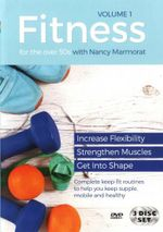 Fitness for the Over 50s : Volume 1  (Nancy Marmorat) (3 Discs) - Nancy Marmorat
