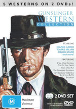Gunslinger Western Collection : 5 Westerns on 2 DVDs - Tony Anthony