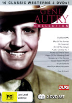Gene Autry Collection (10 Movies, 2 Discs) (Inc. Man of the Frontier / Oh, Susanna! / Rim of the Canyon / Round-Up Time in Texas) - Sarah Churm