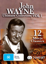 John Wayne Ultimate Collection : Volume 1 (Inc. Blue Steel / The Dawn Rider / The Lucky Texan) (12 Movies 2 Discs) - John Wayne