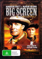 One Eyed Jacks (1961) / Rage at Dawn (1955) (Big Screen Cowboys) - Forrest Tucker