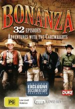 Bonanza : Adventures with The Cartwrights (32 Episodes - 4 Discs) - Dan Blocker