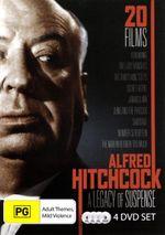 Alfred Hitchcock : A Legacy of Suspense (20 Films, 4 Discs) - Derrick DeMarney