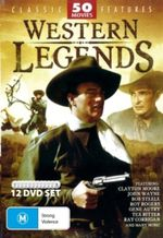 Western Legends Collection (50 Movies) (12 Discs) - Tex Ritter