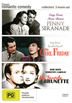 His Girl Friday / My Favourite Brunette / Penny Seranade (Classic Romantic Comedy Triple Pack) - Irene Dunne