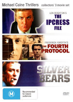 The Ipcress File / The Fourth Protocol / Silver Bears (Michael Caine Thrillers) - Nigel Green
