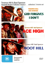 Terrence Hill and Bud Spencer Spaghetti Western Collection Triple Pack Volume 1 (God Forgives, I Dont/Ace High/Boot Hill) - Woody Strode