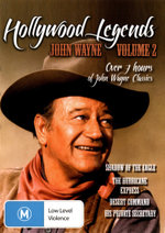 Hollywood Legends Volume 2 : John Wayne (Shadow of the Eagle/The Hurricane Express/Desert Command/His Private Secretary) - Evalyn Knapp