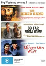 The Hired Hand / So Far From Home / The Meanest Men in the West (Big Westerns Volume 4) - Peter Fonda