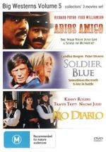 Adios Amigo / Soldier Blue / Rio Diablo (Big Westerns Volume 5) - Richard Pryor