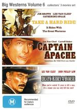 Take a Hard Ride / Capatain Apache / Death Rides a Horse (Big Westerns Volume 6) - Lee Van Cleef
