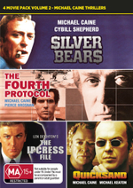 Quicksand / Silver Bears / The Fourth Protocol / The Ipcress File (Michael Caine Thrillers Volume 2) - Michael Caine